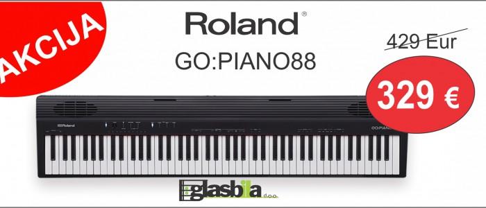 ROLAND - AKCIJA ... PRENOSNI KLAVIR GO:PIANO88 - samo 329 Eur!