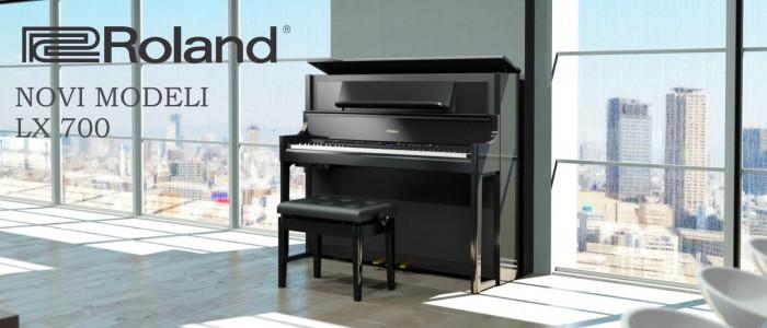 NAJAVLJAMO - ... ROLAND LX 700 - nova serija električnih klavirjev
