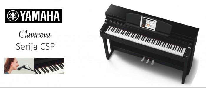 NOVO - pametni klavir Yamaha CSP Clavinova ... modela  CSP 150 in CSP 170