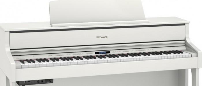 VRHUNSKI ELEKTRIČNI KLAVIR ... ROLAND električni klavir HP 603wh in HP 605WH